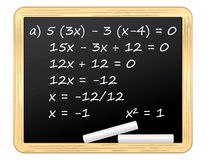 Mathematics Royalty Free Stock Photography