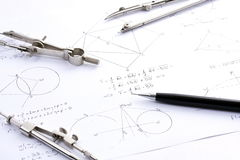 Mathematics Royalty Free Stock Image