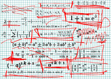 Mathematics Royalty Free Stock Photography