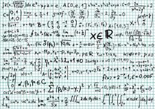 Mathematics Royalty Free Stock Image