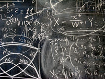 The mathematics Stock Images