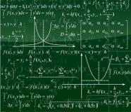 Mathematics background Stock Photography