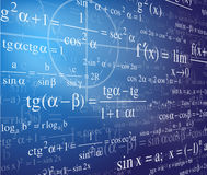 Mathematics background Stock Photography