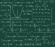 Mathematics Background Stock Image