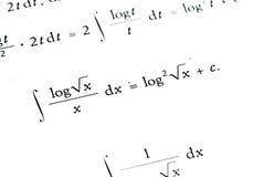 Mathematics background. Mathematics calculations  - for background use Stock Images