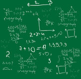 Mathematics background vector Stock Photography