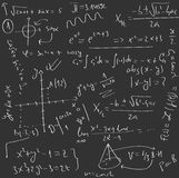 Mathematics board Royalty Free Stock Photos