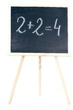 Mathematics on a chalkboard Stock Photos