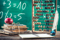 Mathematics classes in primary school Royalty Free Stock Photography