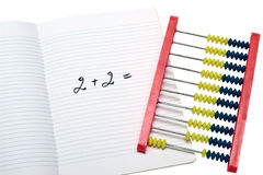 Mathematics. Education problem Stock Photography
