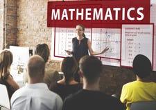 Mathematics Equation Calculate Algebra Function Concept Stock Images