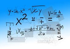 Mathematics, Formula, Physics Royalty Free Stock Image