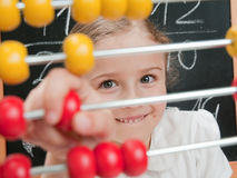 Mathematics lesson Royalty Free Stock Photo