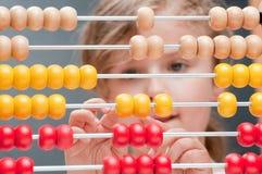 Mathematics lesson Stock Image