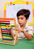 Mathematics lesson Stock Photo