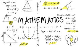 Mathematics Math Algebra Calculus Numbers Concept Stock Photos