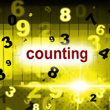 Mathematics Numbers Represents One Two Three And Numerals Stock Photos
