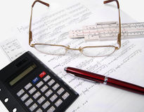 Mathematics science Royalty Free Stock Image
