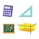 Mathematics set vector Stock Photos