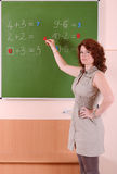 Mathematics teacher Royalty Free Stock Photography