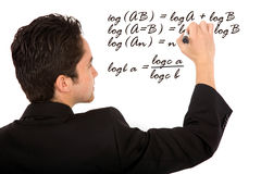 Mathematicss teacher Royalty Free Stock Photos