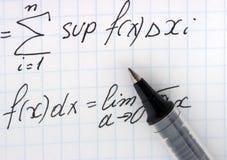 Mathematik Stockfoto