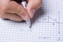 Mathematiker lizenzfreie stockfotografie