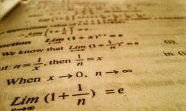 Mathematikkunst stockfotos