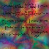 Mathematische differenziale Ausdrücke Lizenzfreie Stockfotografie