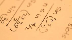 MathematischerHintergrund stock video
