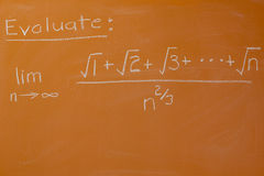 Mathematisches Problem Lizenzfreies Stockbild