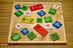 Mathematisches Set Stockfoto