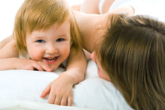 Mather And Baby Royalty Free Stock Photography