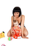 Mather with baby Royalty Free Stock Image