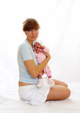 Mather&child Royalty Free Stock Photo