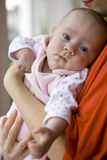 Mather hold her baby Stock Images