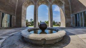 Mather Park Fountain Fotografia Stock