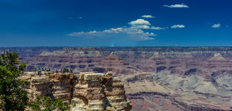 Mather Point Grand Canyon Stockfoto