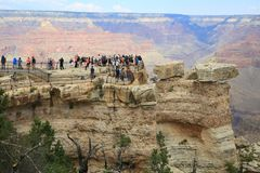 Mather Point, Grand Canyon Stock Photo