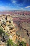 Mather Point op de Zuidenrand, het Nationale Park van Grand Canyon, Arizona stock afbeelding