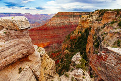 Mather Point, point de vue, parc national de Grand Canyon, Arizona, U image stock