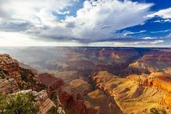 Mather Point, punto di vista, parco nazionale di Grand Canyon, Arizona, U Fotografia Stock Libera da Diritti