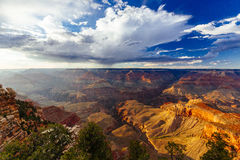 Mather Point, punto di vista, parco nazionale di Grand Canyon, Arizona, U Immagine Stock Libera da Diritti