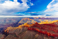 Mather Point, punto di vista, parco nazionale di Grand Canyon, Arizona, U Immagini Stock