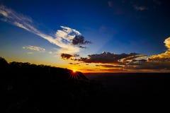 Mather Point siktspunkt, Grand Canyon nationalpark, Arizona, U Royaltyfria Foton