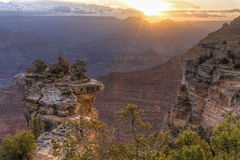 Mather Point Sunbeams images stock