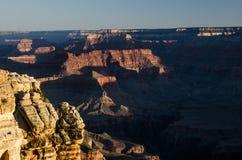 Mather Point Sunrise, Grand Canyon Stock Image