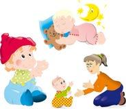 Mather y bebé Imágenes de archivo libres de regalías