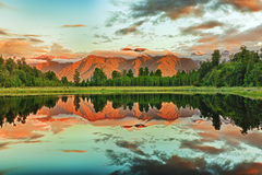 matheson озера Стоковое Фото