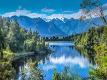 Matheson jezioro zdjęcia royalty free
